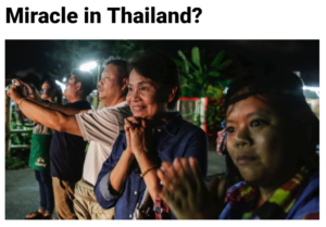 Miracle in Thailand?